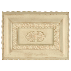 Teiber Lighting Products Hand Carved Rectangle Chime