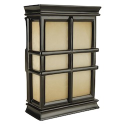 Teiber Lighting Products Hand Carved Window Pane Chime