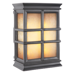 Teiber Lighting Products Hand-Carved Window Pane Led Illuminated Chime