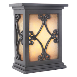 Teiber Lighting Products Hand-Carved Scroll Design Led Illuminated Chime