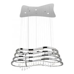 Elan Chrome Down Chandelier