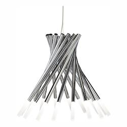 Elan Chrome Phlair Chandelier