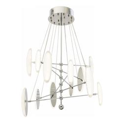 Elan Chrome Cellulare Chandelier