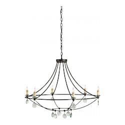 Currey Mayfair Novella 6 Light Chandelier