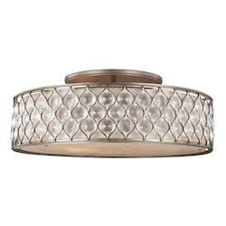 Feiss 6 - Light Semi-Flush Mount