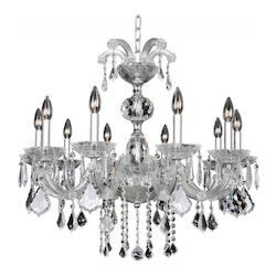Kalco Allegri Giordano 10 Light Chandelier