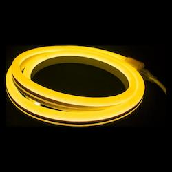American Lighting Polar2 Neon, 150' Reel, 24 Volt, 2.8 W/Ft, 12In. Cuttability, Amber Jacket