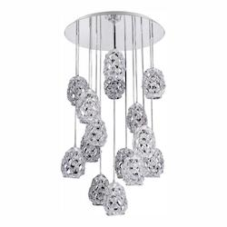 Kalco Allegri Veronese 31.5In. Round Convertible/Round Pendant Or Flush Mount