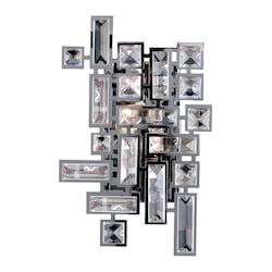 Kalco Allegri Vermeer 2 Light Wall Bracket W/Chrome