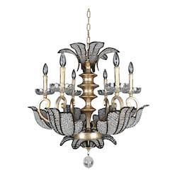 Kalco Allegri Tiepolo 6 Light Chandelier