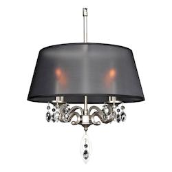 Kalco Allegri Georgetta 4 Light Chandelier
