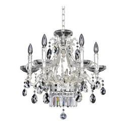Kalco Allegri Rossi 6 Light Chandelier
