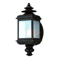 Troy One Light Colonial Iron Wall Lantern