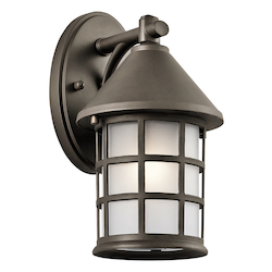 Kichler Olde Bronze Town Light 1 Light Outdoor Wall Sconce