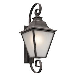 Kichler Weathered Zinc Northview 1 Light Outdoor Wall Sconce
