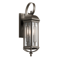 Kichler Olde Bronze Galemore 3 Light Outdoor Wall Sconce
