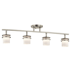 Kichler Brushed Nickel Hendrik 4 Light Semi-Flush Ceiling Fixture