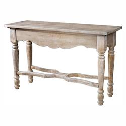 Uttermost Cowen Aged Console Table