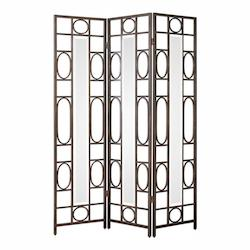 Uttermost Keagan Iron Floor Screen