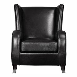 Uttermost Lane Black Accent Chair