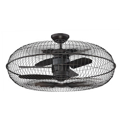 Savoy House Senegal 28In. Air Ionizing Fan D'Lier