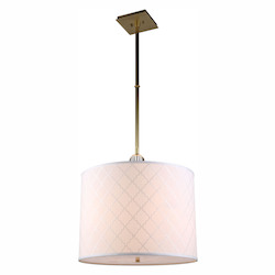 Urban Classic 1445 Gemma Collection Pendant Lamp D:22In. H:51.5In. Lt:2 Burnished Brass Fi