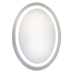 Elegant Decor Nova 30in. X 23in. LED Oval Mirror
