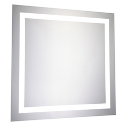 Elegant Decor Nova 28in. X 28in. LED Square Mirror