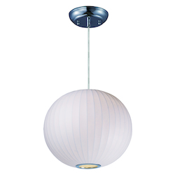 Maxim Cocoon 1-Light Chandelier