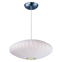 Maxim Cocoon Single Pendant-25In.