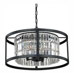 Vaxcel International Catana 4L Dual Mount Pendant/Semi-Flush Mount