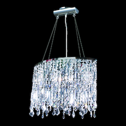 James R Moder Contemporary Oval Chandelier