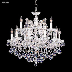 James R Moder Maria Theresa 15 Arm Chandelier