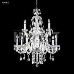 James R Moder Palace Ice 12 Arm Chandelier