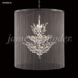 James R Moder Florale Collection Chandelier