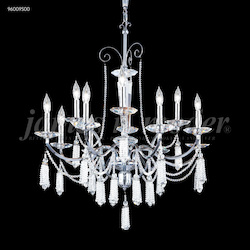 James R Moder Tassel Collection 12 Arm Chandelier
