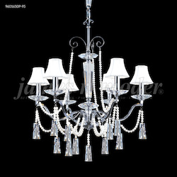 James R Moder Pearl Collection 6 Arm Chandelier