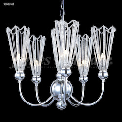James R Moder Medallion 6 Arm Chandelier
