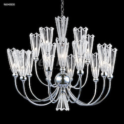 James R Moder Medallion 15 Arm Chandelier