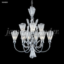 James R Moder Jewelry Collection 9 Arm Chandelier