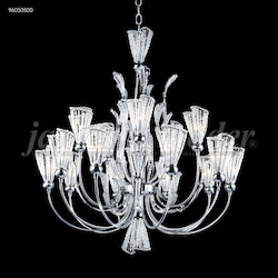 James R Moder Jewelry Collection 15 Arm Chandelier