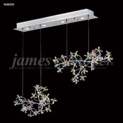 James R Moder Continental Fashion Floral Chandelier