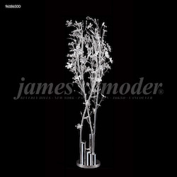 James R Moder Continental Fashion Floral Lamp