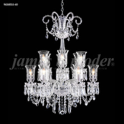 James R Moder Venetian 12 Arm Chandelier