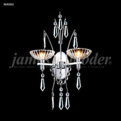 James R Moder Medallion Fashion 2 Arm Wall Sconce