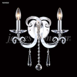 James R Moder Europa Collection 2 Arm Wall Sconce