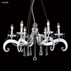 James R Moder Europa Collection 6 Arm Chandelier