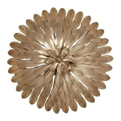 Crystorama Crystorama Broche 4 Light Gold Sconce