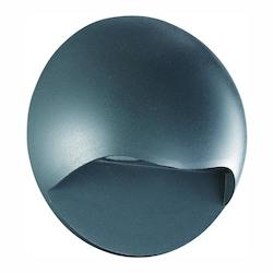 Trans Globe Led Outd Wall Lamp-Round-Gray