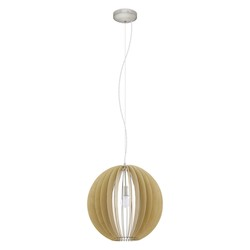 Eglo Pendant Light Matte Nickel